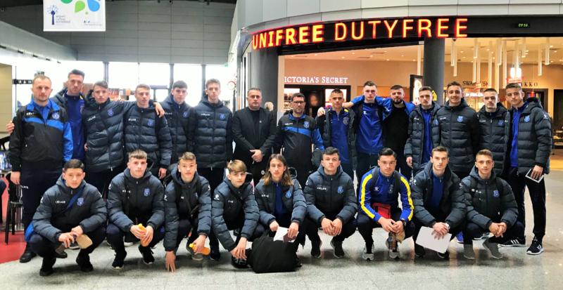 Kombëtarja U-17 udhëtoi në Irlandën Veriore