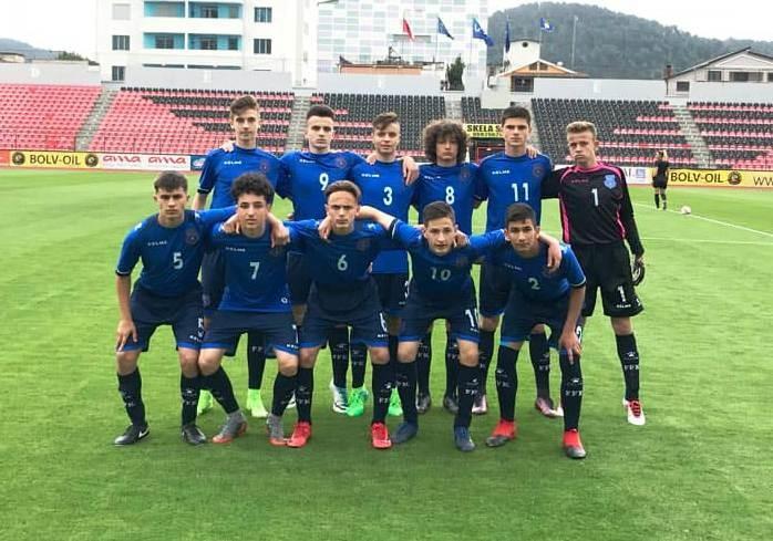 Kosova U15 barazoi me Shqipërinë në miqësoren e parë