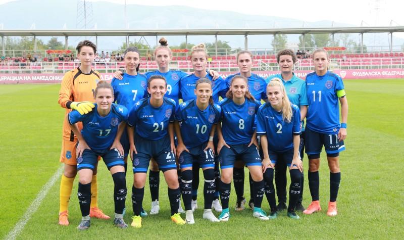 Triumf i Kombëtares A – femrat kundër Maqedonisë në ndeshjen e dytë