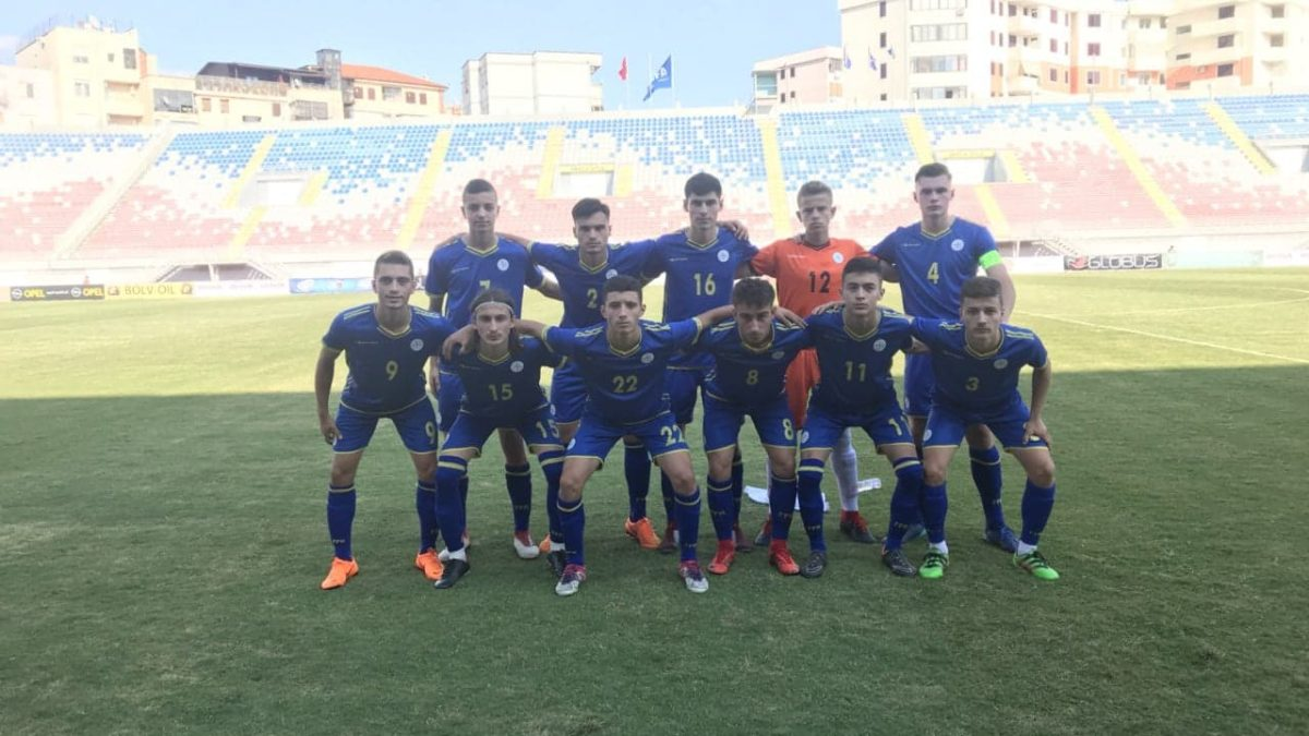 Kosova U17 e fitoi miqësoren e parë kundër Shqipërisë U17