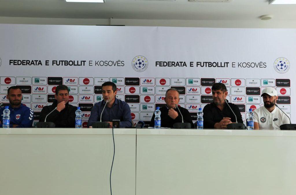 """U mbajt konferenca për media para ndeshjes FC """"Prishtina""""-AKV """"Bardhosh Gërvalla"""""""