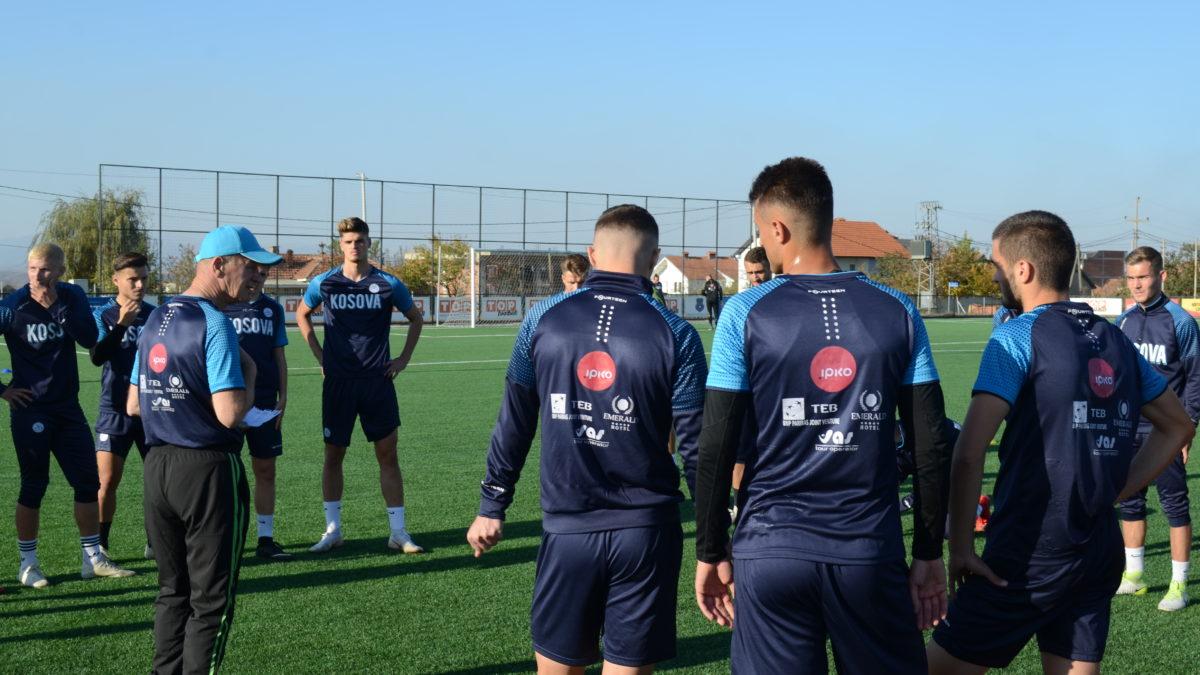 Kombëtarja U21 po përgatitet për duelin me Izraelin