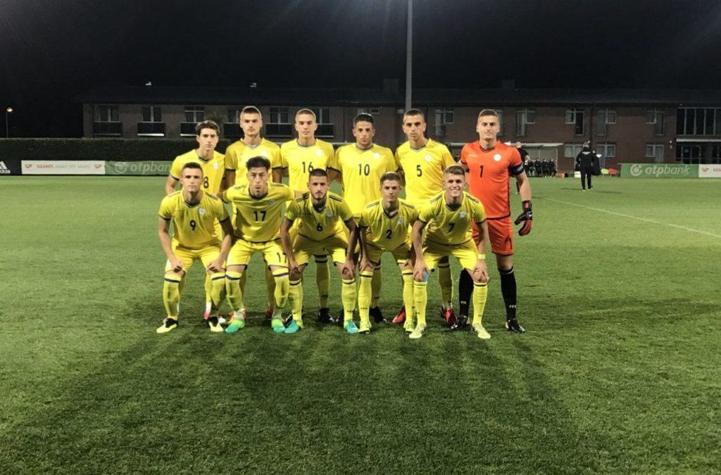 Kombëtarja U19 barazon edhe me Hungarinë