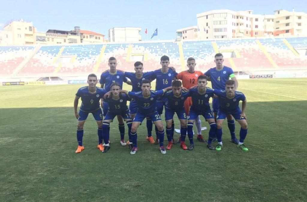 Kombëtarja U17 pësoi humbje në ndeshjen e parë kundër Skocisë