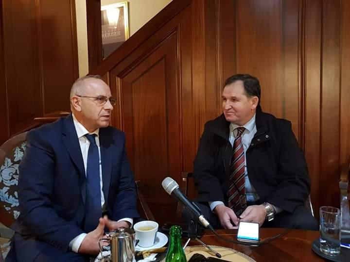 Vizita e presidentit Ademi në Sarajevë zgjoi interesim të mediave