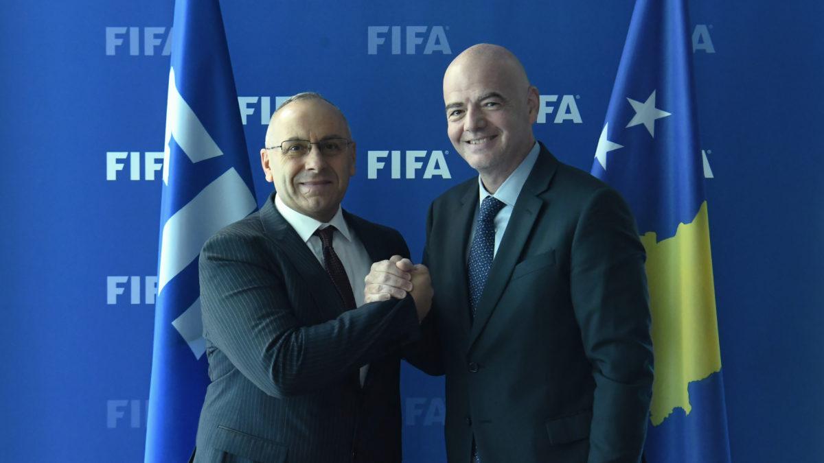 Mesazhi i presidentit Ademi për 4-vjetorin e anëtarësimit në FIFA
