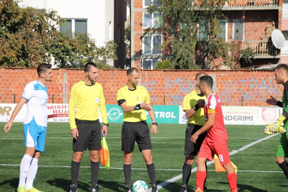 Zyrtarët e ndeshjeve të rrethit të dytë të Digitalb Kupës së Kosovës
