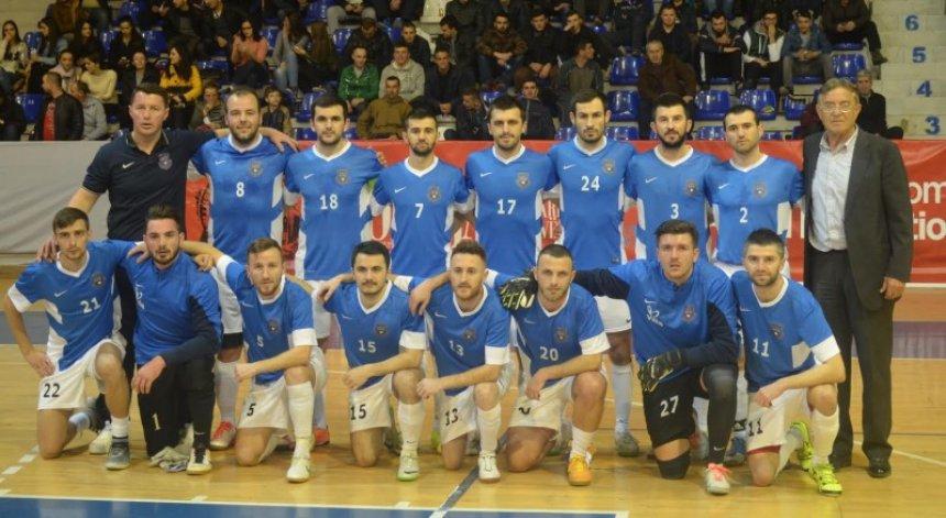Kombëtarja e Kosovës në futsall në grumbullim treditorë