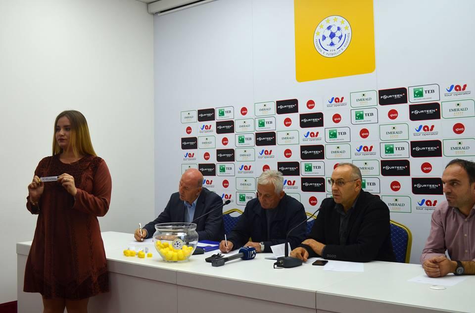 U tërhoq shorti për rrethin e dytë të Digitalb Kupës së Kosovës