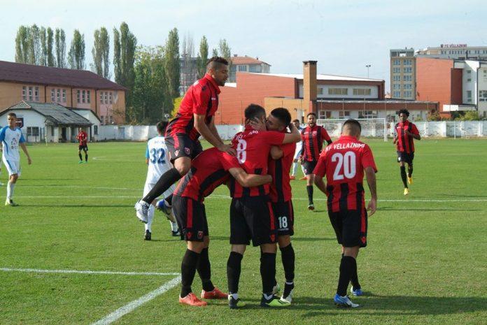 Prishtina, Drita, Ferizaj dhe Vëllaznimi në çerekfinale