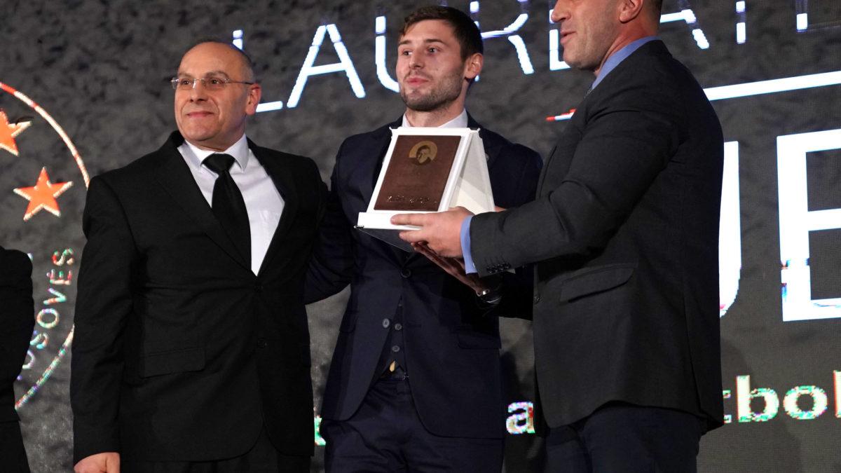 Arbër Zeneli, futbollisti më i mirë i Kosovës për vitin 2018
