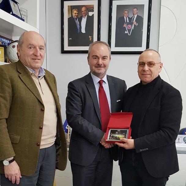 Presidenti Ademi priti zv.presidentin e Federatës bullgare