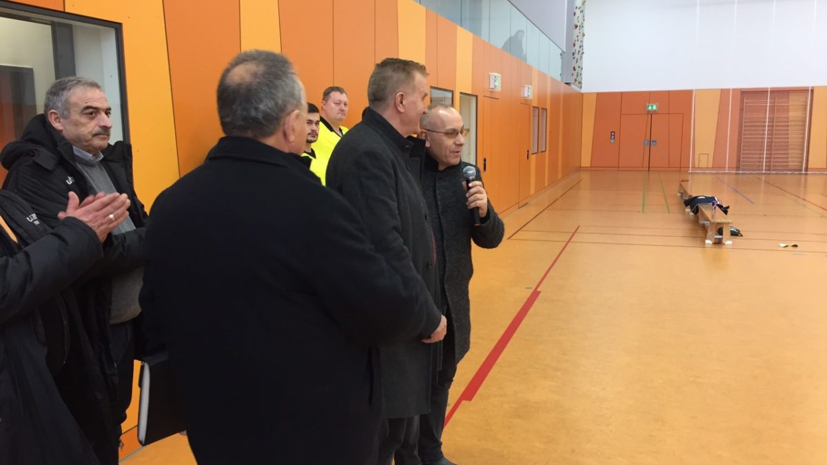 Presidenti i FFK-së mori pjesë në nisjen solemne të Ligës Shqiptare në Futsall në Gjermani