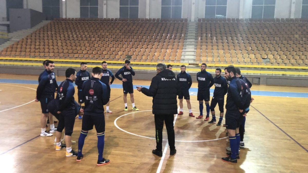 Kombëtarja A në futsall po përgatitet në Gjakovë