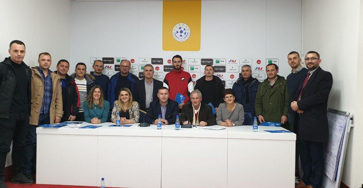 """FFK vazhdon edhe sivjet me projektin """"Rekrutimi i vajzave të reja shkollore në futbollin e organizuar"""""""
