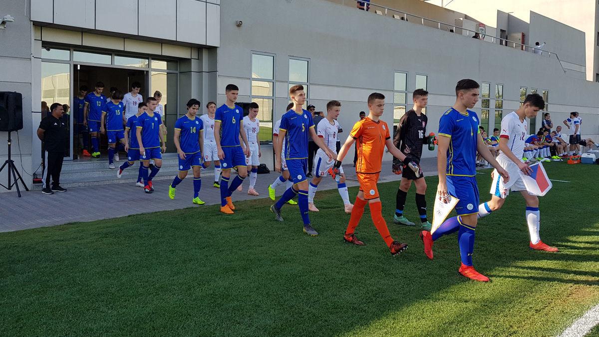 Kombëtarja U16 humb nga Çekia me dy gola të vonshëm