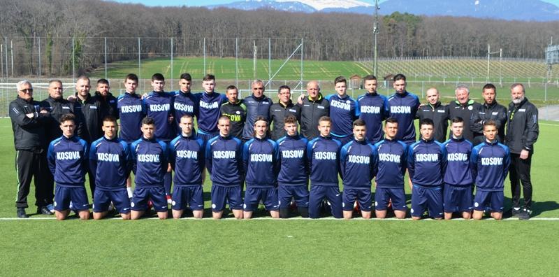 Kombëtarja U17 mbajti stërvitjen e parë në Zvicër