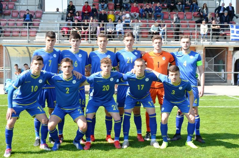Kosova U17 e mbyll rrethin elitë me humbje