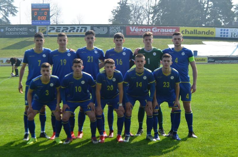 Kombëtarja U17 pësoi humbje nga Ukraina