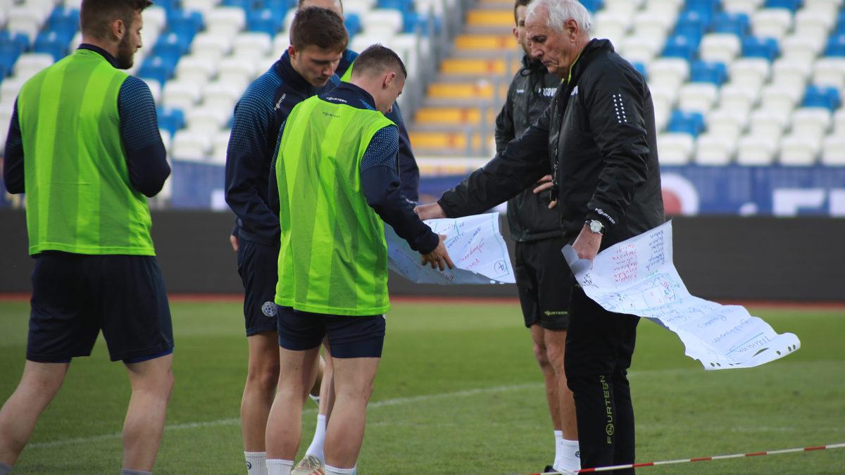 """""""Dardanët"""" zhvillojnë stërvitjen e radhës, e presin me padurim ndeshjen kundër Bullgarisë"""