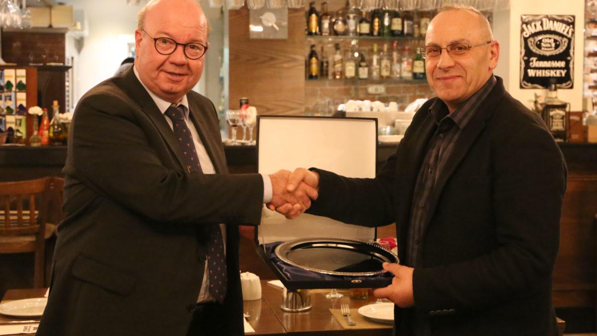 Presidenti Ademi shtroi darkë për homologun danez Jesper Møller