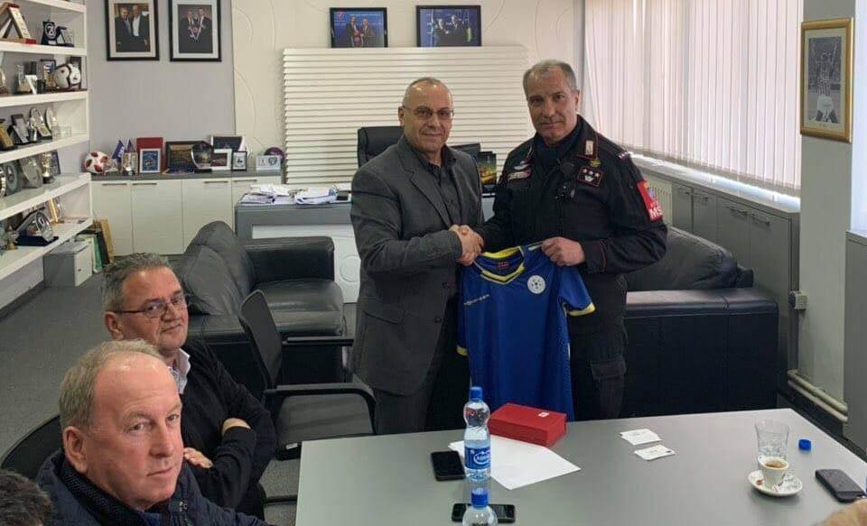 Presidenti Ademi priti komandantin e Karabinierëve, Ruggiero Capodivento