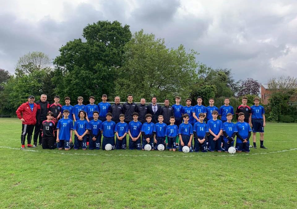 Kampi treditor i FFK-së për talentet U15 në Londër
