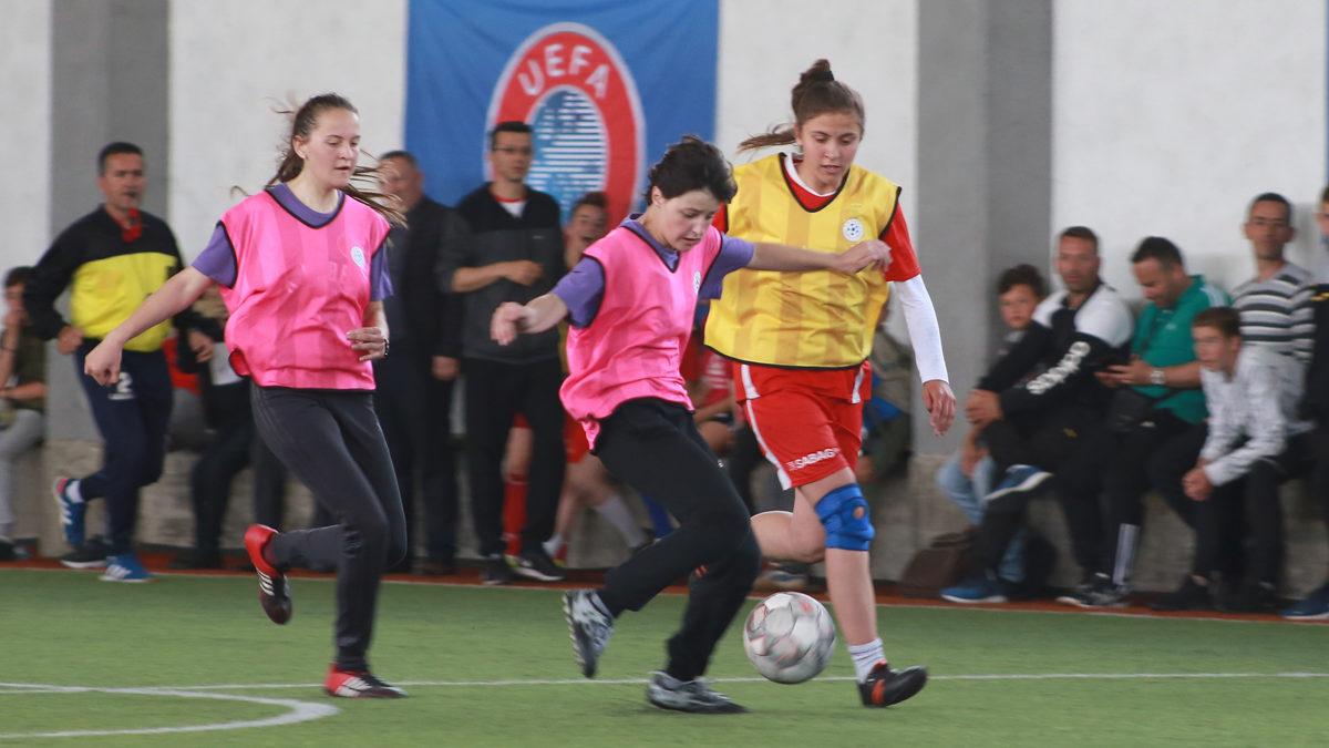 Rekrutimi i vajzave në futboll/Turne me interesim të madh edhe në Pejë