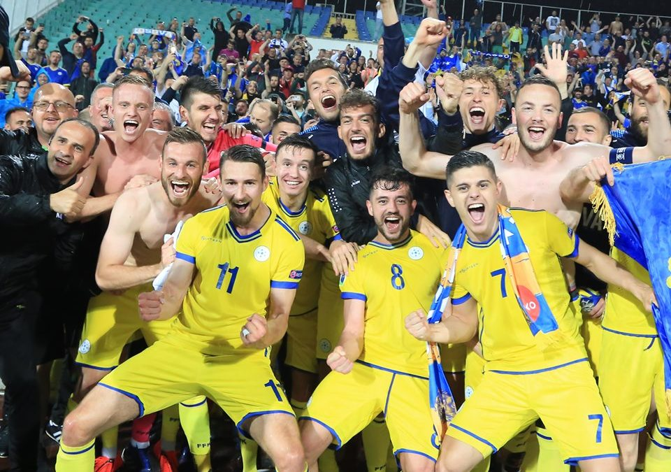 Amazing Kosovo enjoys historic win in Bulgaria