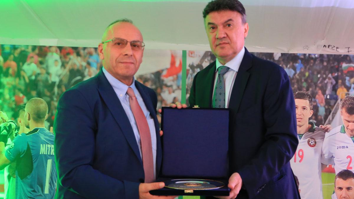 FF e Bullgarisë shtroi darkë për krerët e FFK-së para ndeshjes