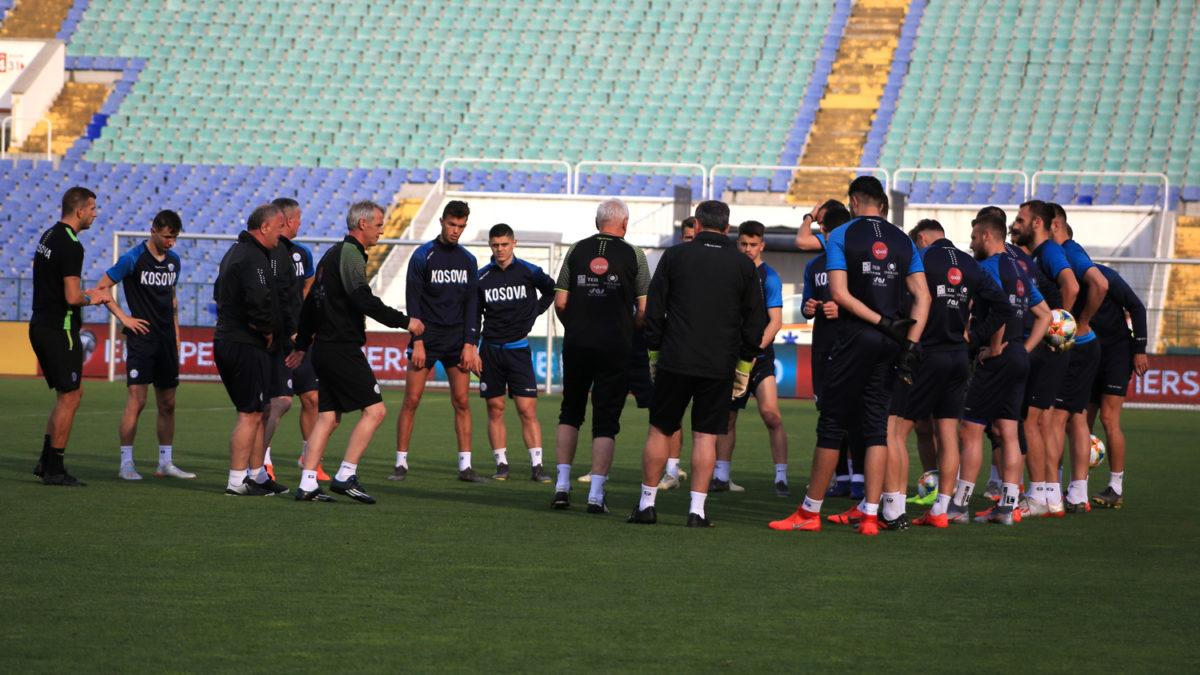 Dardanët e mbajtën stërvitjen e fundit, të gatshëm për duelin me Bullgarinë