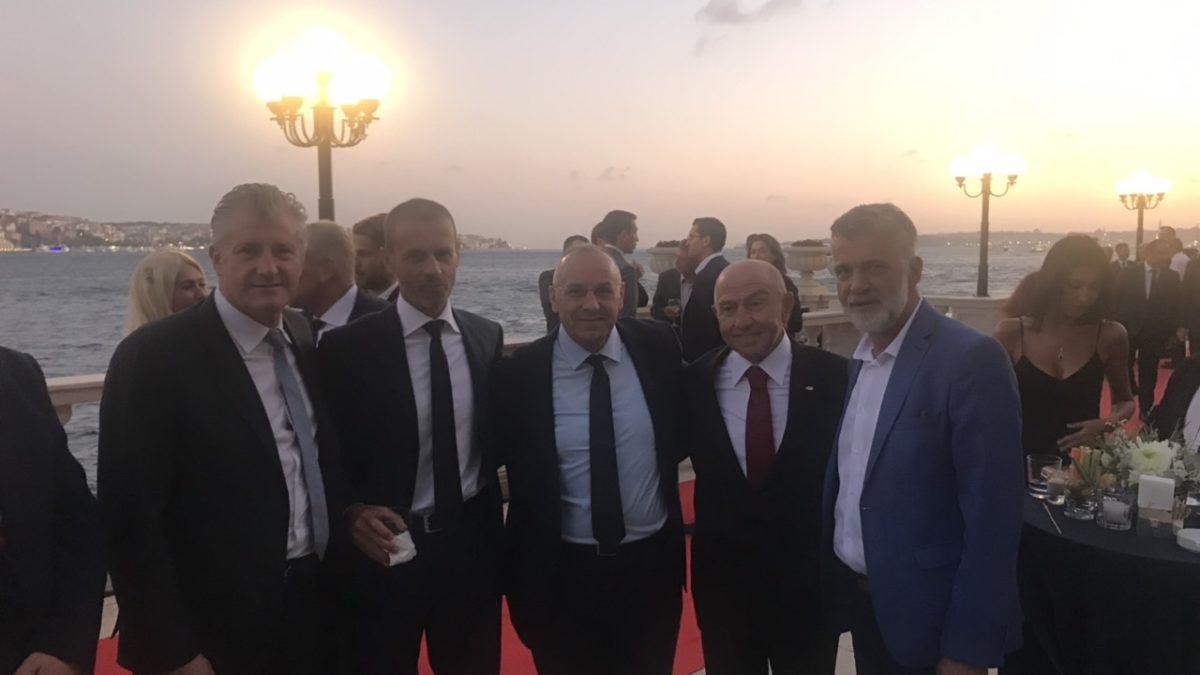 Presidenti Ademi takoi presidentin Ceferin dhe shumë homologë në Stamboll