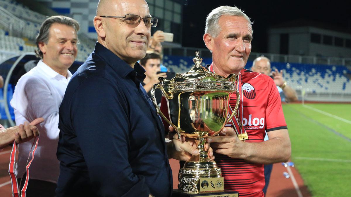 """Veteranët e Tetovës fitues të turneut të parë përkujtimor """"Fadil Vokrri"""""""