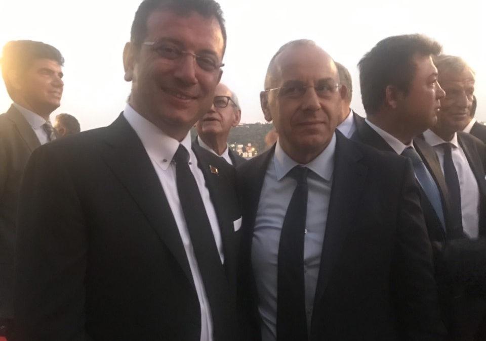 Presidenti Ademi takim me kryebashkiakun e Stambollit