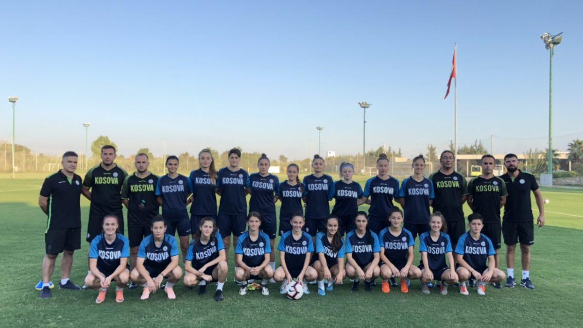 Kosova U19 (femrat) zhvilloi stërvitjen e parë në Antalya, të mërkurën dueli me danezet