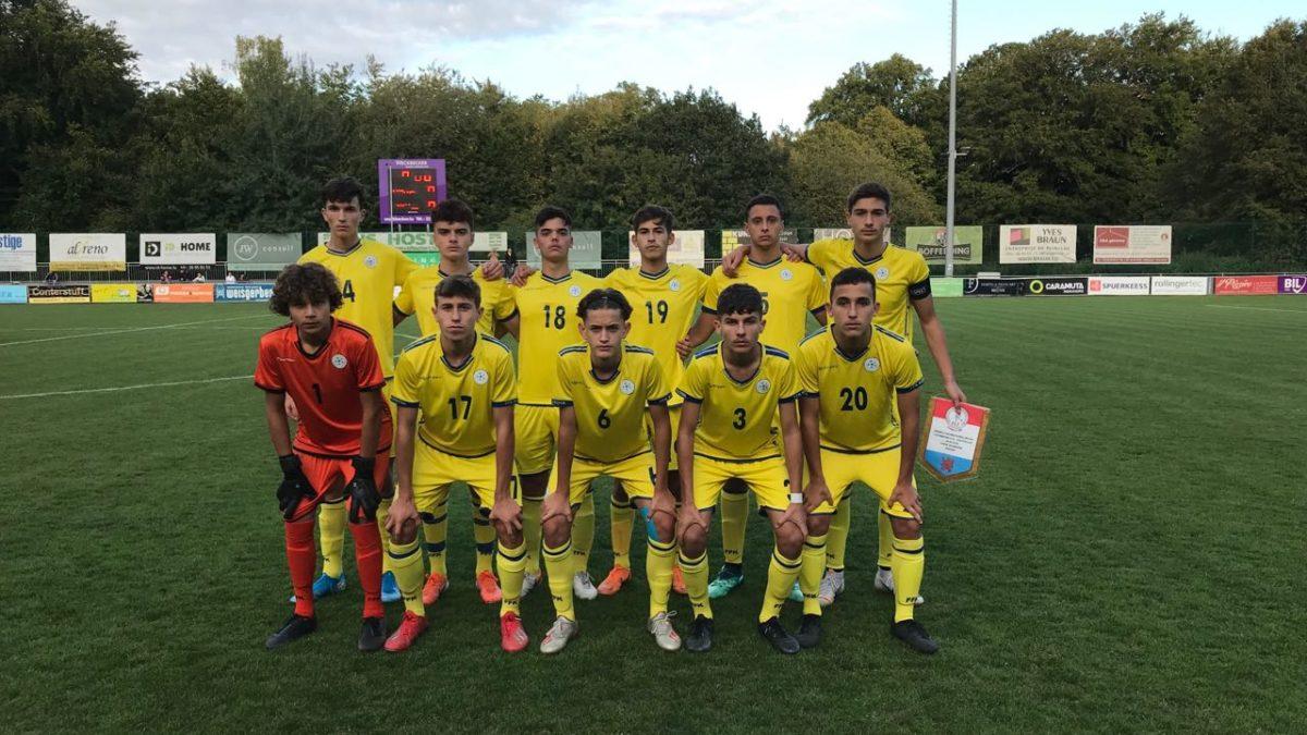 Kombëtarja U16 barazoi në miqësoren e dytë me Luksemburgun