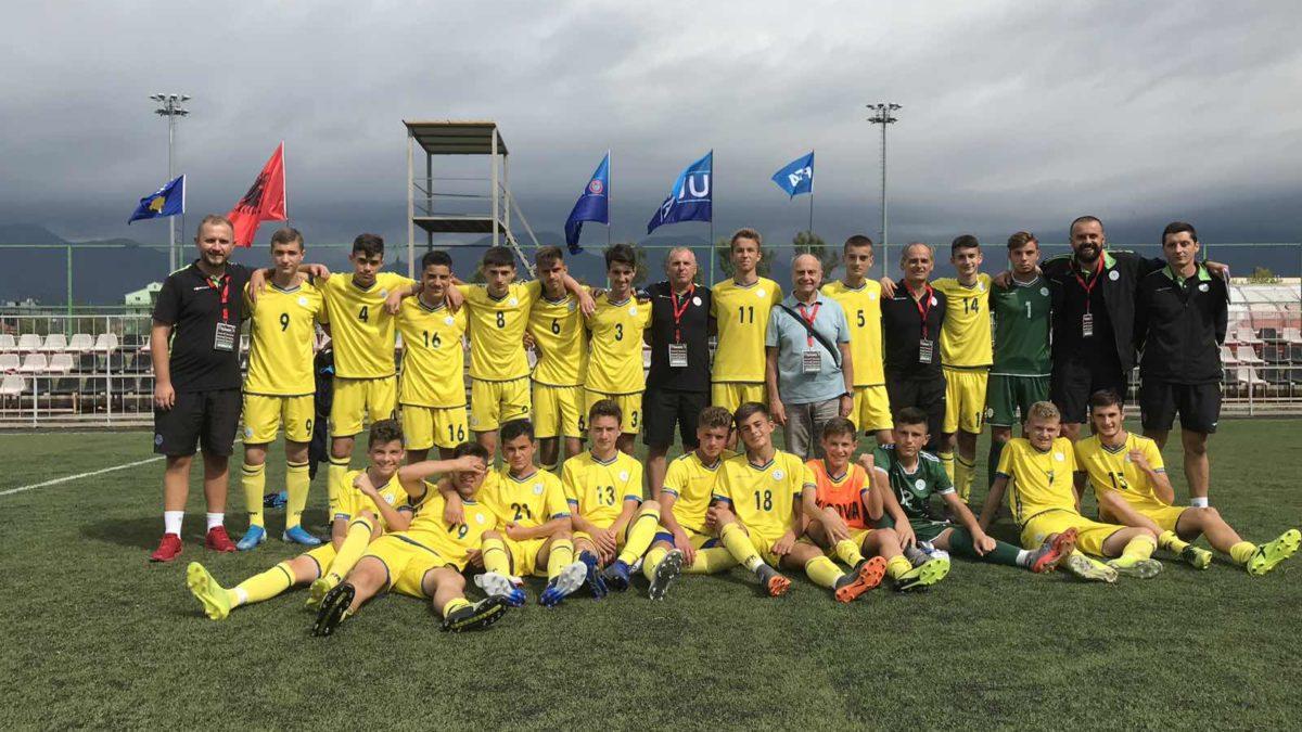 Kosova U15 e shpartalloi Taxhakistanin