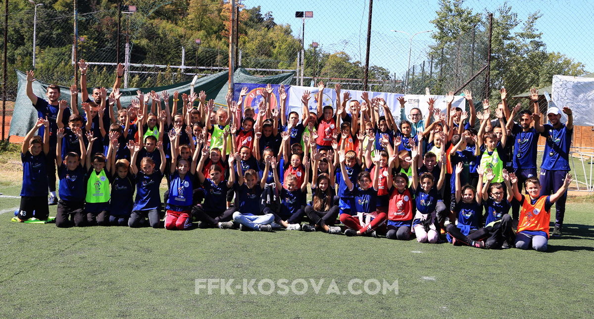 Grassroots Week marked with kids