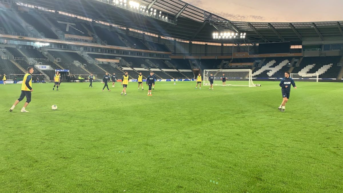 Kosova U21 e gatshme për sfidën me Anglinë U21