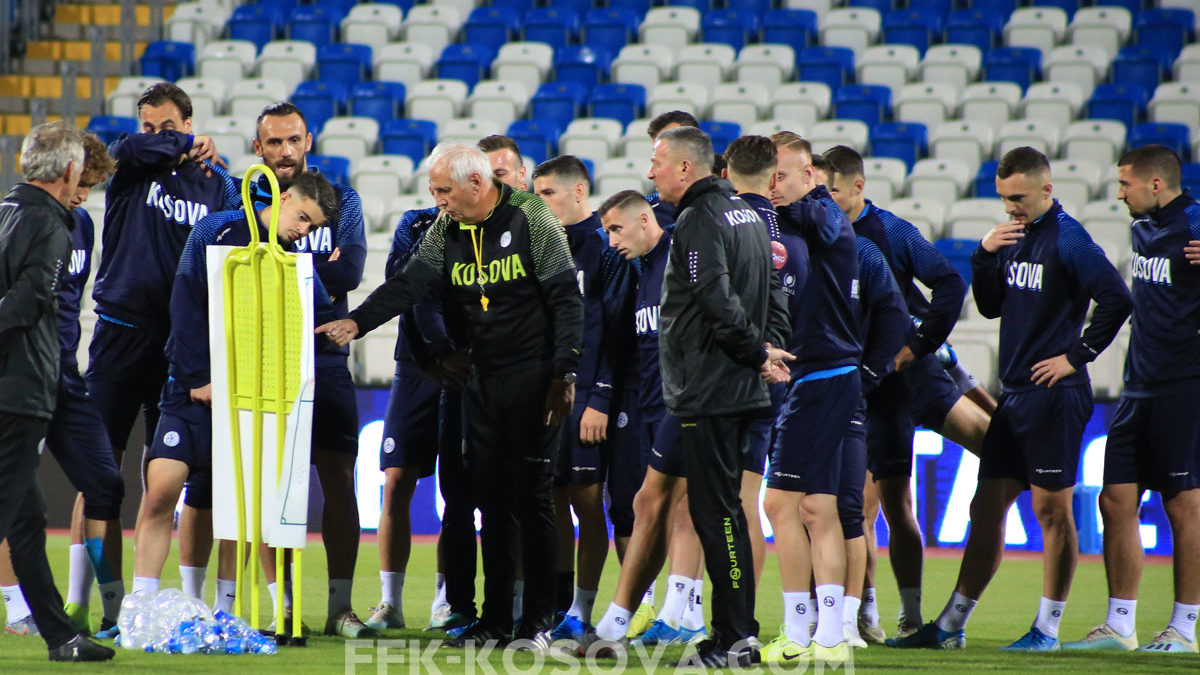Dardans prepared for the friendly match with Gibraltar, they assess it as a good test prior to the match with Montenegro