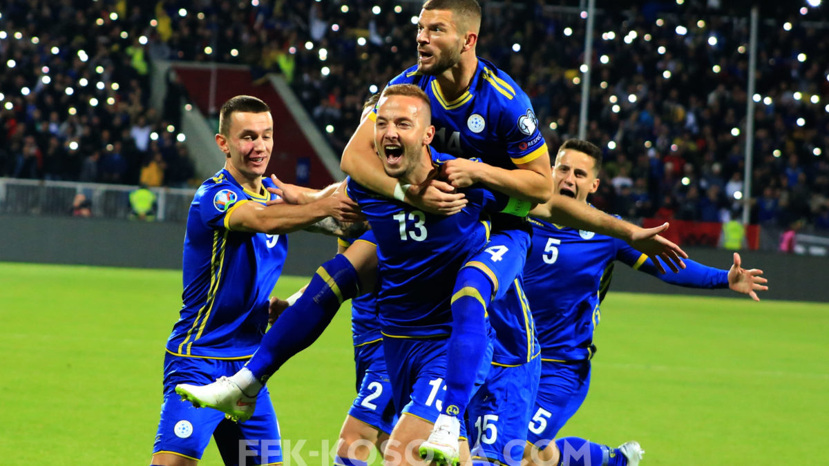 Kosova përparoi 16 pozita në renditjen e FIFA-s gjatë vitit 2019