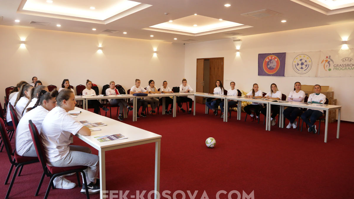 Training course for women coaches in cooperation with the Norwegian Football Federation begins