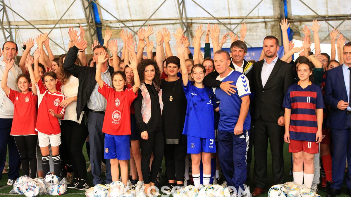Projekti rekrutimi i vajzave/ Deçani, vatër e talenteve të futbollit