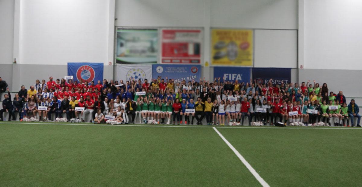 """U përmbyll me sukses edicioni i dytë i projektit """"Rekrutimi i vajzave të reja në futbollin e organizuar"""""""