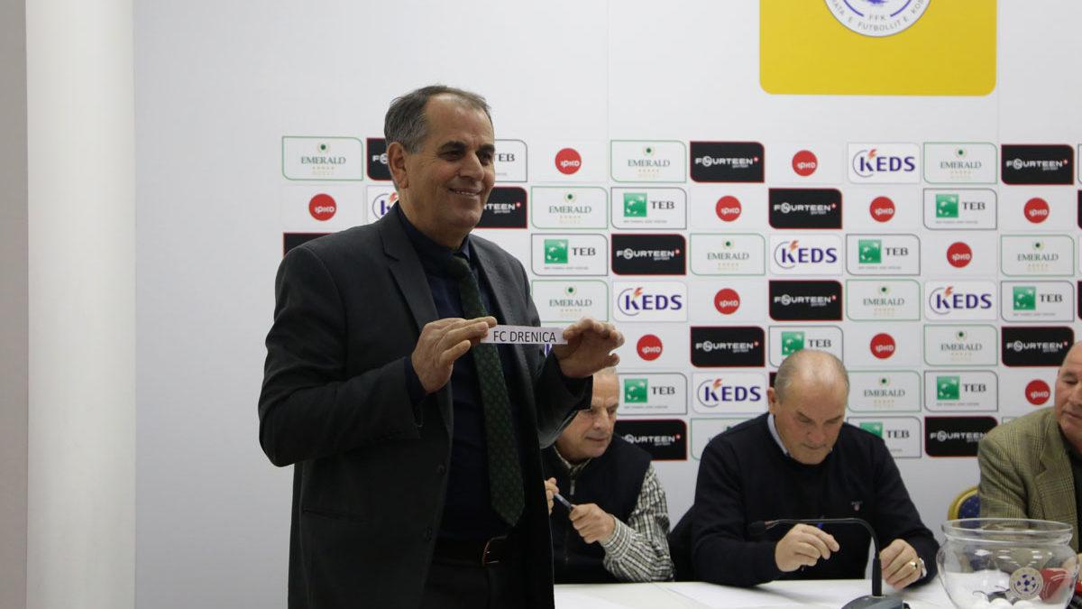 U hodh shorti për çerekfinale të Digitalb Kupës së Kosovës