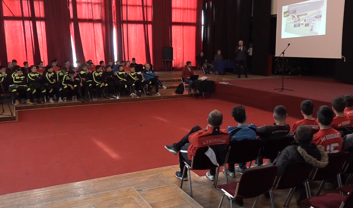 Lecture against match-fixing in front of the new age groups of the capital's clubs