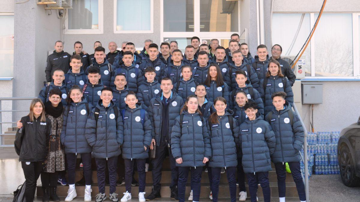 Kombëtarja U19 e meshkujve dhe Kombëtarja e femrave udhëtuan për Itali