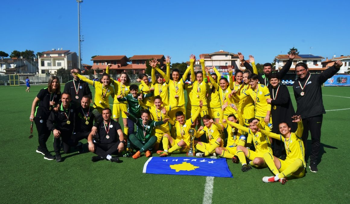 Dardans win the tournament in Italy without defeat
