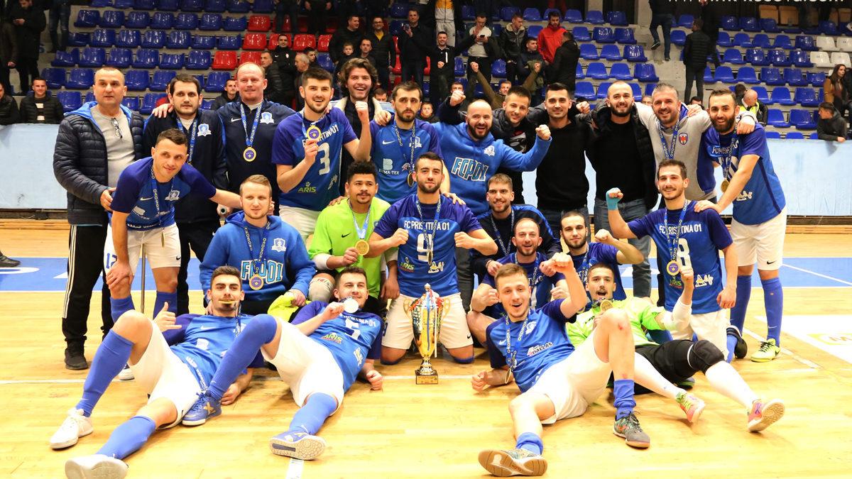 Prishtina 01 fituese e Kupës së Kosovës në futsall