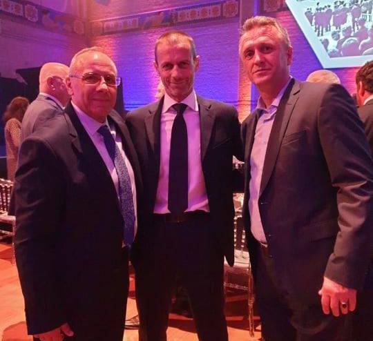 Drejtuesit e FFK-së në Amsterdam për Kongresin e UEFA-s dhe shortin e Ligës së Kombeve